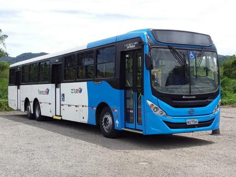 Transcol inicia testes com ônibus de 15 metros