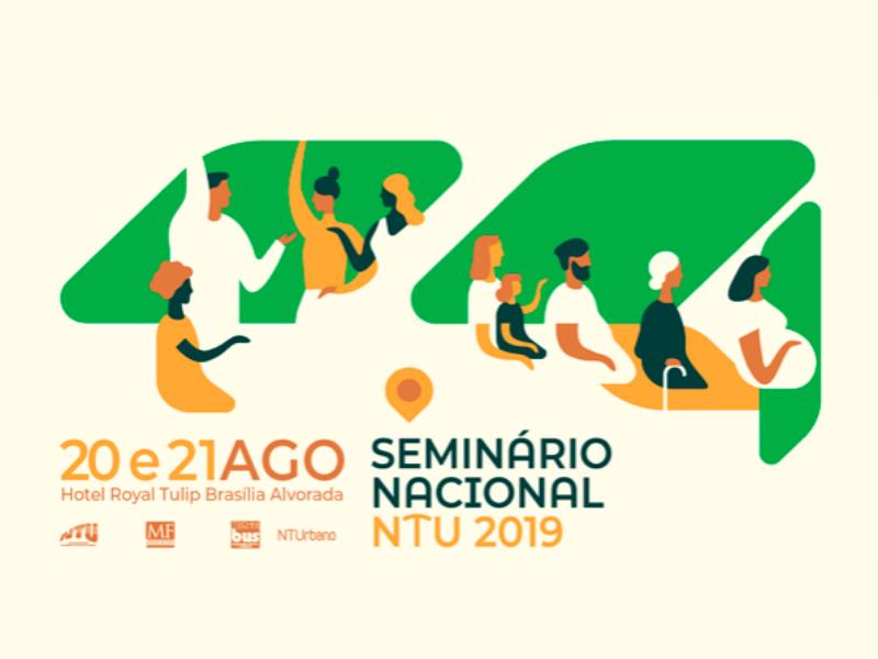 Seminário Nacional NTU 2019 acontece em agosto e traz inovação e reinvenção como tema central