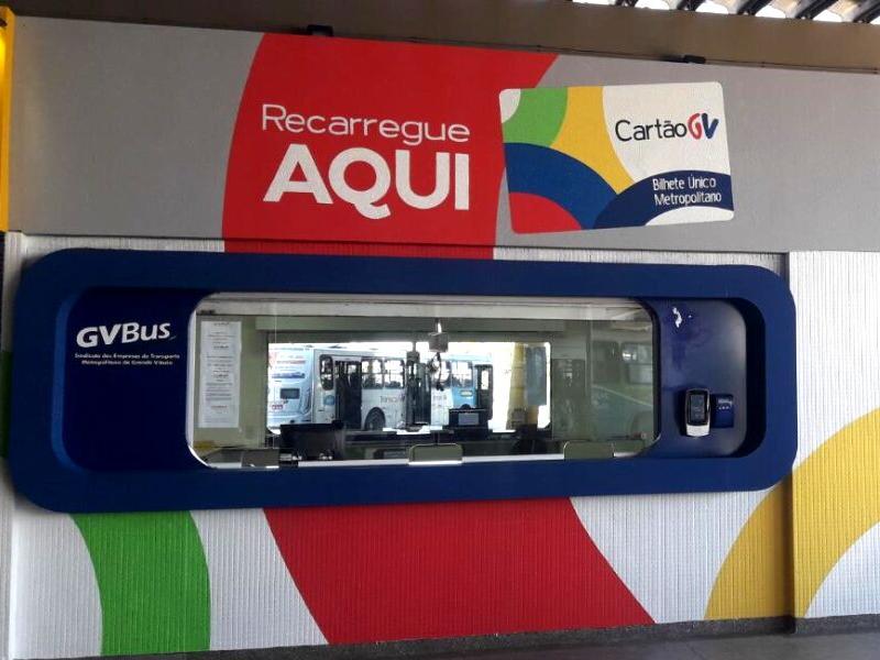Lojas Central e o Posto de Atendimento às gratuidades da Reta da Penha, foram os primeiros pontos a receberem o novo grafismo