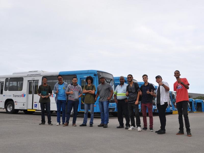 Busólogos conheceram as instalações e o funcionamento das empresas Vereda e Praia Sol e puderam desfrutar de um dia marcante